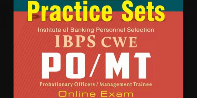 IBPS PO Practice Set