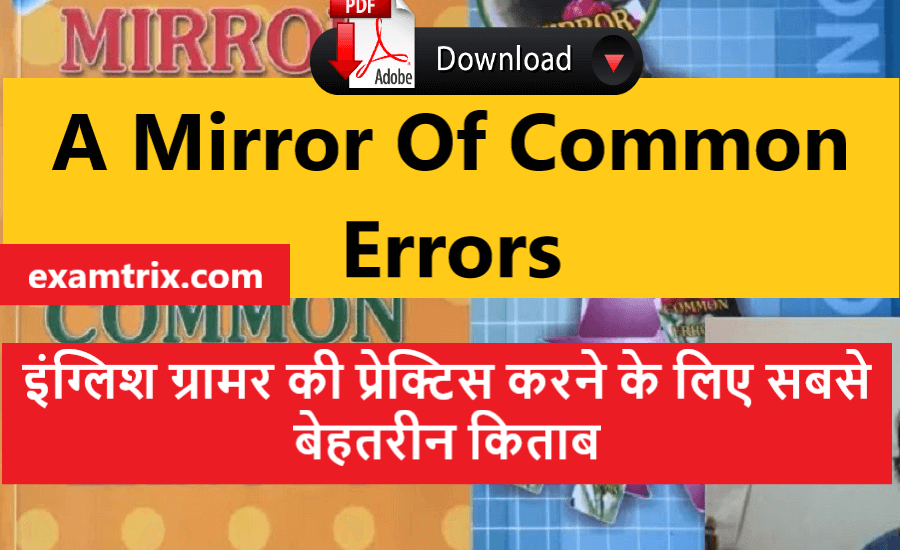 A Mirror of common errors English book