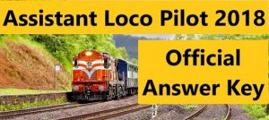 RRB ALP Result Question paper 2018