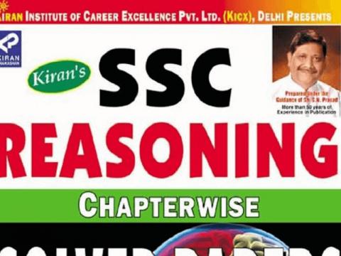SSC CGL Reasoning Kiran Book