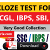 Cloze test SSC Bank PO