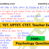 Psychology Objective Questions (1)