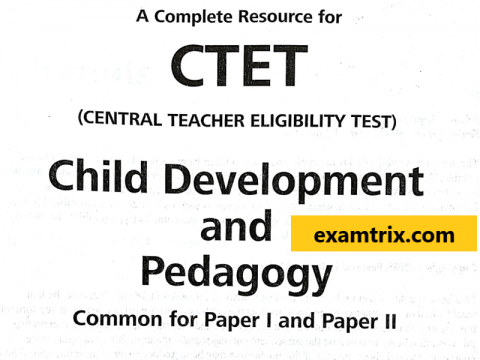 Child depelopment and pedagogy english