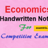 Indian Economy - Economics Handwritten class notes
