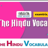 The Hindu Vocabulary - One word substitution, Idioms and phrases, antonyms and synonyms - English vocabulary
