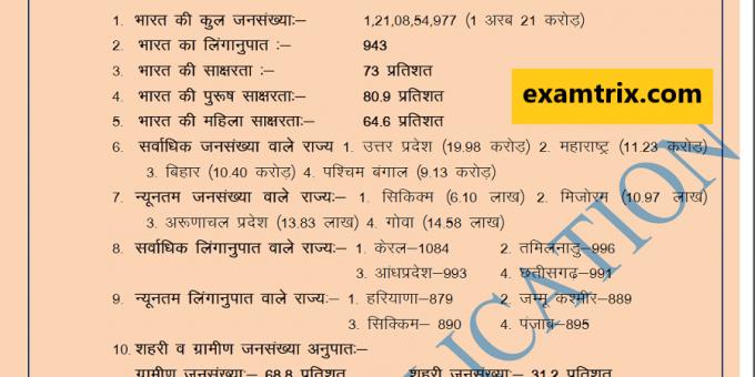 Economics Notes in Hindi examtrix.com