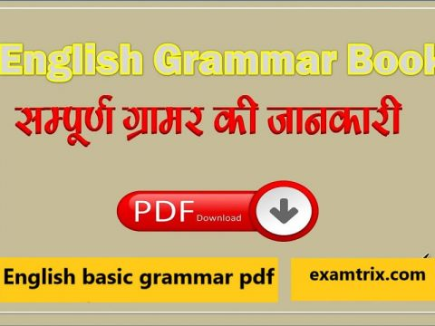 English basic grammar pdf Download SSC English Notes