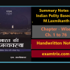 Indian Polity Notes Based on M Laxmikant Book