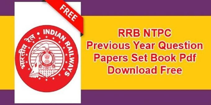 Railway RRB NTPC Question Paper