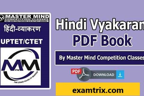Hindi Vyakaran PDF Book Download In Hindi For CTET-UPTET