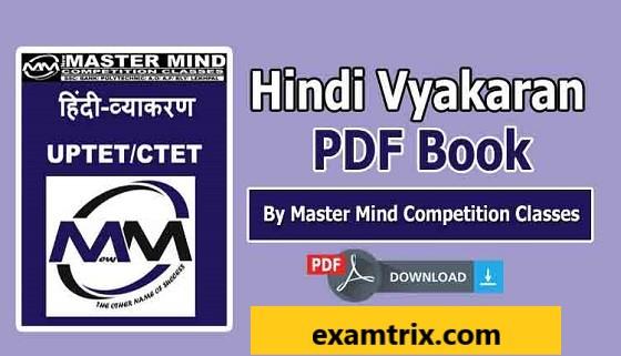 Hindi Vyakaran PDF Book Download In Hindi For CTET-UPTET