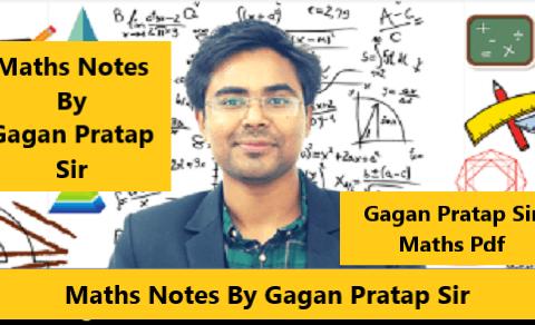 Maths Notes By Gagan Pratap Sir PDF Download