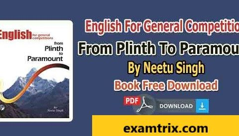 Paramount English Book Plinth To Paramount By Neetu Singh PDF Download