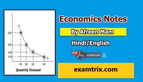 Indian Economics Notes in Hindi & English PDF Free Download