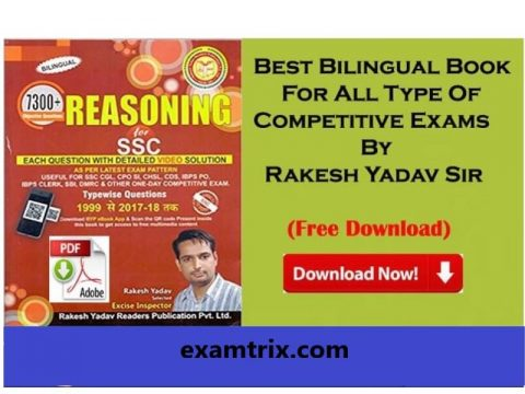 Rakesh yadav reasoning book in Hindi PDF Download