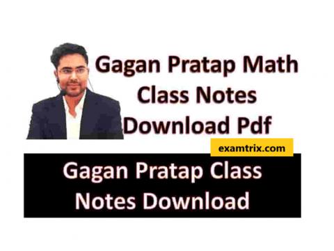 Gagan Pratap Maths PDF Book Download