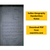 Geography notes for upsc in Hindi PDF