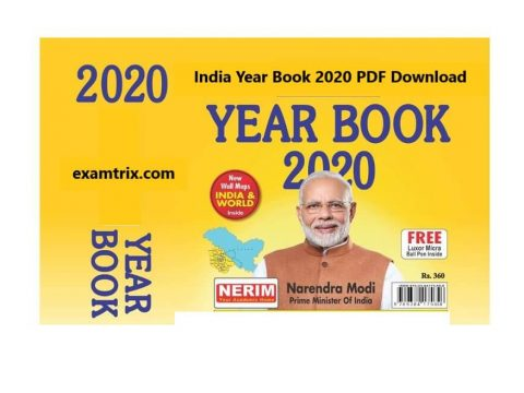 India Year Book 2020 PDF Download