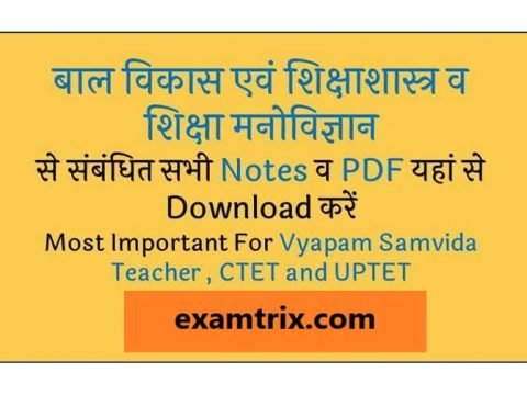 Child development and pedagogy PDF in Hindi and English Download