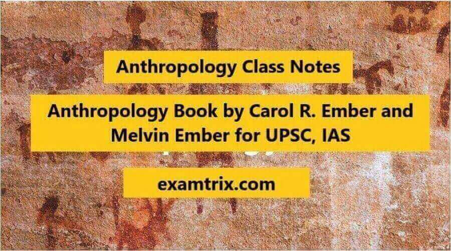 Ember and Ember Anthropology PDF Book 14th edition