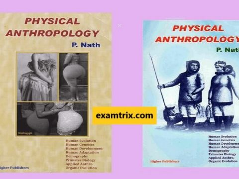 Free Download Physical Anthropology by P Nath PDF Book latest edition
