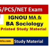 IGNOU Sociology BA MA Optional Books PDF Download