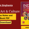 Nitin Singhania Art and Culture PDF notes Download for UPSC IAS in English