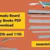 Tamil nadu Board History Books PDF Download tn text ncert class 12th and 11th book