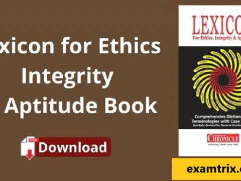 lexicon ethics pdf latest edition integrity and aptitude for upsc