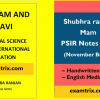 shubhra ranjan political science notes for UPSC IAS GS Paper 2 (2020-21), Political Science and International Relations (PSIR)
