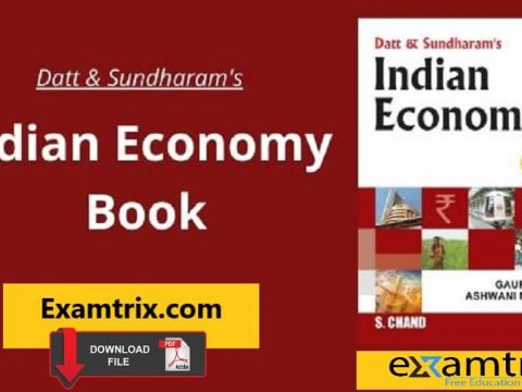 Dutt and Sundaram Indian Economy PDF 73rd edition Download