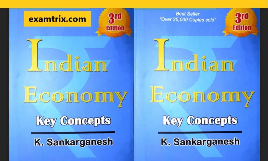 Indian Economy by Shankar Ganesh PDF key concepts Free Download