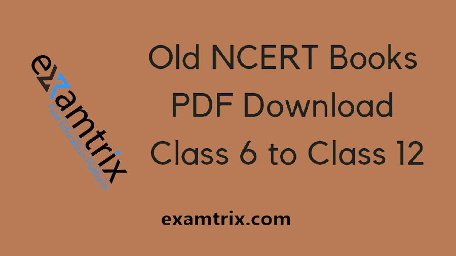 Old NCERT Books in Hindi and English PDF Free Download History and Geography