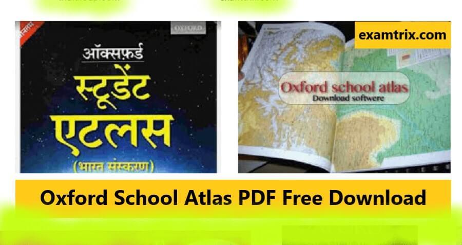 Oxford School Atlas PDF Free Download orient blackswan atlas