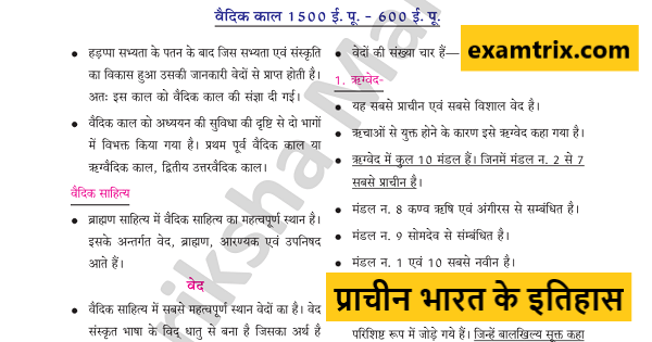 Ancient History in Hindi PDF by Pariksha Manthan