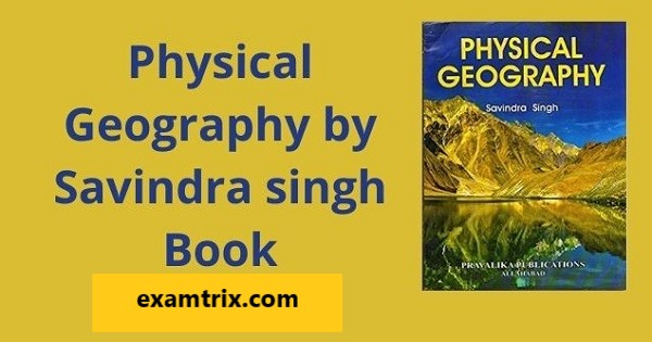 Physical geography by savindra singh pdf download latest edition