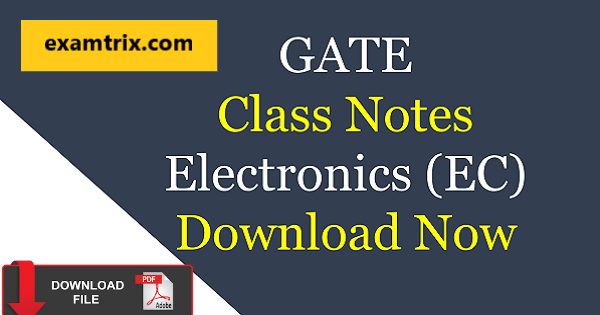 IES Study material for electronics and communication free download pdf